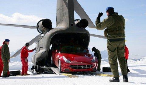 Video Ferrari FF Air Lift to Plan de Corones