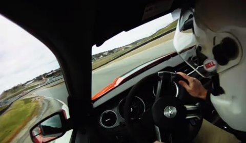 mustang boss laguna seca. Video Ford Mustang Boss 302