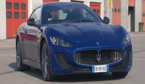 Video Maserati GranTurismo MC Stradale at Varano de' Melegari track