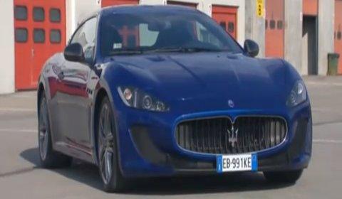 Video Maserati GranTurismo MC Stradale at Varano de' Melegari track