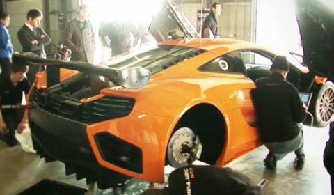 Video McLaren MP4-12C GT3 Racing Car Shakedown