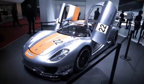 Video Tour of The Porsche Stand Geneva Motor Show 2011