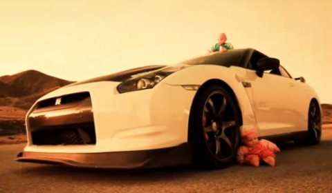Video Widebody Lexus GS and Seibon's Nissan GT-R Turbo Drifting
