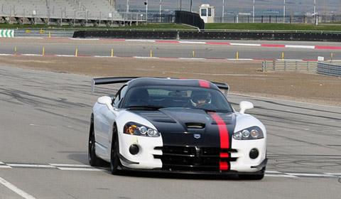 On April 11, 2011, Dodge road racer Kuno Wittmer shattered the s