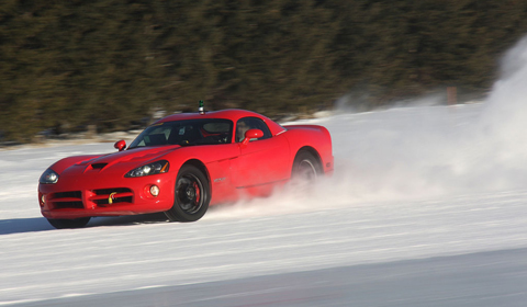 2013 Dodge Viper Testing