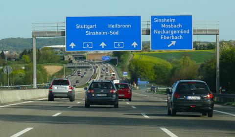 Autobahn Baden-Württemberg