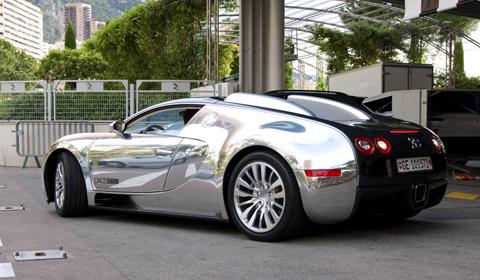 Bugatto Veyron Pur Sang