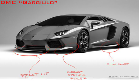 Lamborghini Aventador Body Kit Concept by DMC