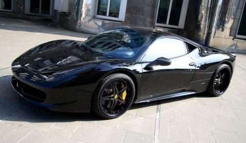 anderson germany ferrari 458 italia black carbon edition - Black Ferrari 458 Italia