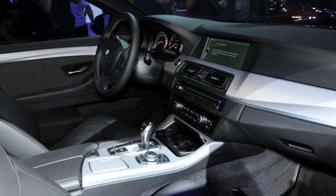 BMW F10M M5 Concept Interior
