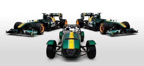 Caterham Team Lotus Special Edition Seven 01