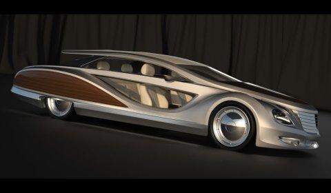 Gray Design Strand Craft Limousine Beach Cruiser