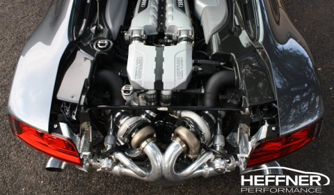 Heffner Performance Develops Audi R8 V10 Twin Turbo Package 01