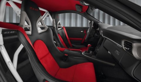 interior pictures porsche 911 gt3 rs 40 limited edition