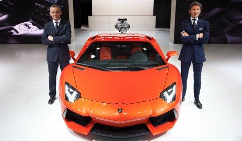 Lamborghini LP700-4 Aventador Official Release in Asia