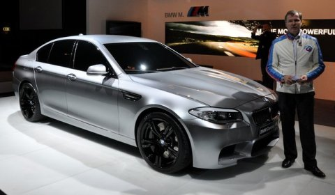 Leaked 2012 BMW F10M M5 Ahead of Shanghai Debut