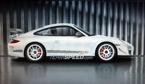 New Pictures Porsche 911 GT3 RS 4.0 Limited Edition 01