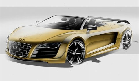 Official Audi R8 GT Spyder Coming Soon
