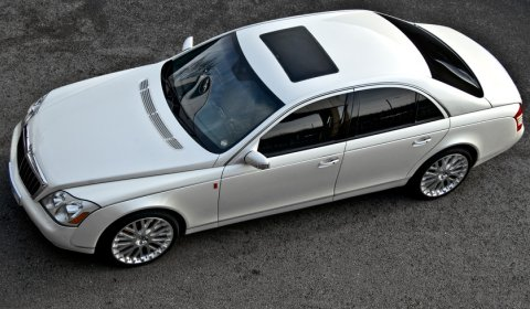 Official Project Kahn's Wedding Commemorative Maybach 57