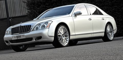 Official Project Kahn's Wedding Commemorative Maybach 57 01