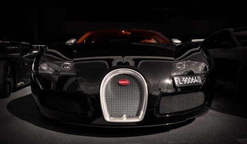 Photo Of The Day Bugatti Veyron Sang Noir