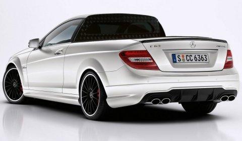 Rendering Mercedes-Benz C 63 AMG Pickup