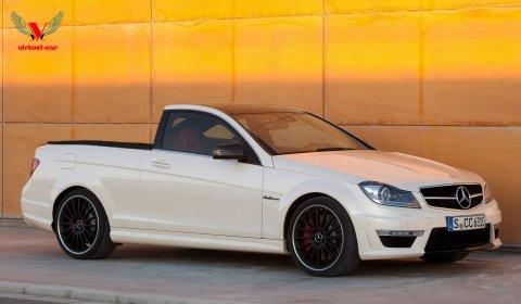 Rendering Mercedes-Benz C 63 AMG Pickup 01