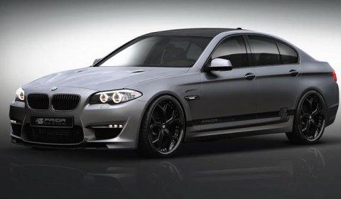 Rendering Prior Design BMW F10 5 Series