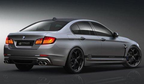 Rendering Prior Design BMW F10 5 Series 01