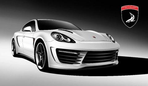 Rendering Top Car Porsche Stingray GTR