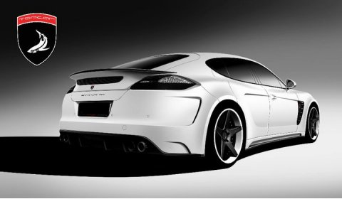 Rendering Top Car Porsche Stingray GTR 01