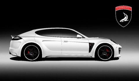 Rendering Top Car Porsche Stingray GTR 02