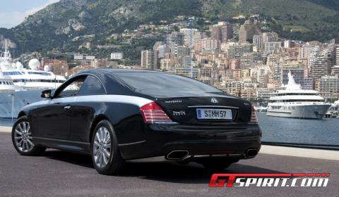 Road Test Xenatec Maybach 57S Coupe in Monaco 01
