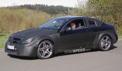 Spyshots Mercedes-Benz C63 AMG Coupe Black Series