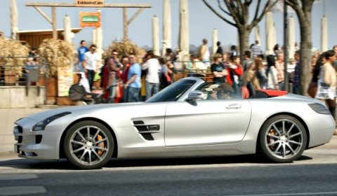 This is The 2012 Mercedes-Benz SLS AMG Roadster
