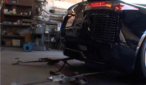 Video 2012 Lexus LFA Dyno Test