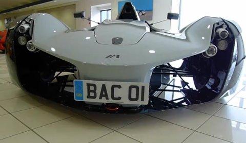 Video BAC Mono at Ferrari Nottingham Dealership