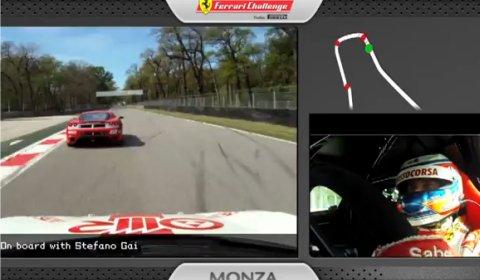 Video Ferrari 458 Challenge Racer at Monza