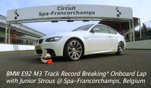 Video Junior Strous Onboard Lap at Spa Francorchamps