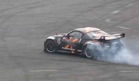 Video Performance Nissan Meet-Drifting Demostration