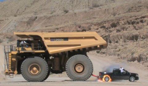 Video Top Gear Australia Towing a 600-ton Truck