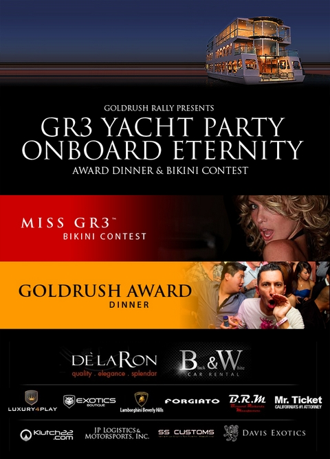 GR 3 Yacht Party