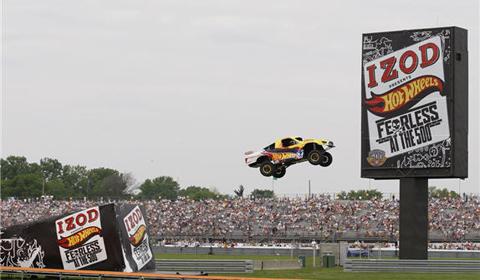 World Record Jump Indy 500