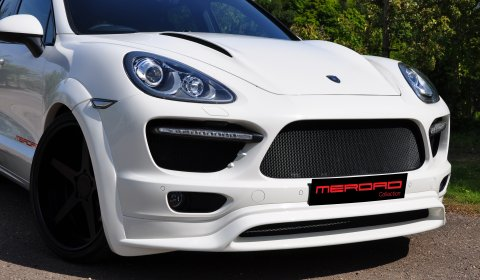 Merdad Collection Cayenne Turbo-look Front Body Styling