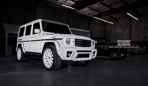 Photo Of The Day: Custom Mercedes-Benz G-Class Bodykit - GTspirit