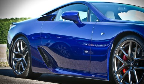 Photo Of The Day Lexus LFA and IS-F at Bruntingthorpe 01