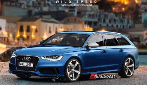 Rendering Audi RS6 Avant by Wild-Speed
