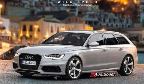 Rendering Audi RS6 Avant by Wild-Speed 01