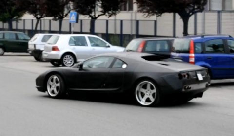 Spyshots De Tomaso Pantera Leaving Headquarters