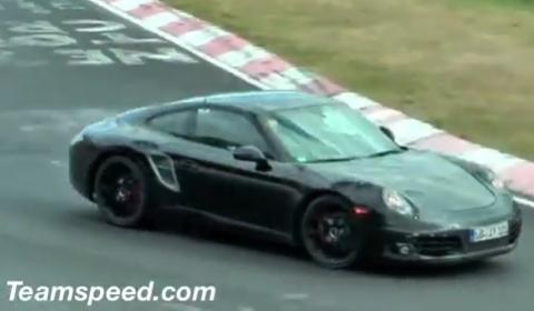 Spyshots Porsche 991 Testing at The Nurburgring